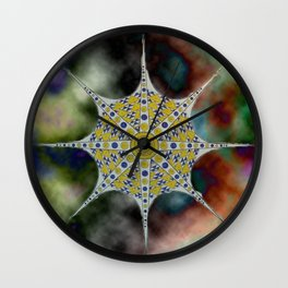 the star or octopus Wall Clock