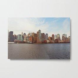 New York 12 Metal Print