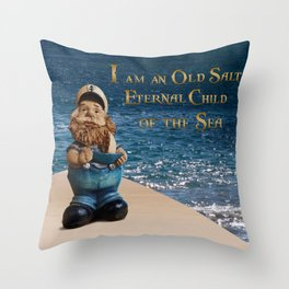 Old Salt - Sailor Throw Pillow