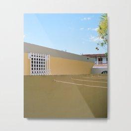 urbanización houses side by side Metal Print