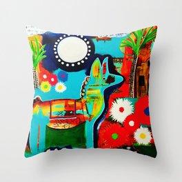 Mexican Love Throw Pillow
