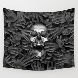 Hell Reclaims It's Own Wall Tapestry