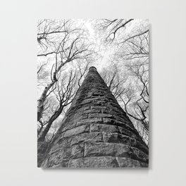 ruined mill in colden valley Metal Print
