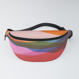 Abstraction_OCEAN_Beach_Minimalism_001 Fanny Pack