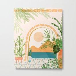 Baja California Villa / Villa Series Metal Print