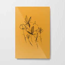 Remember The Small Joys Of Spring Metal Print