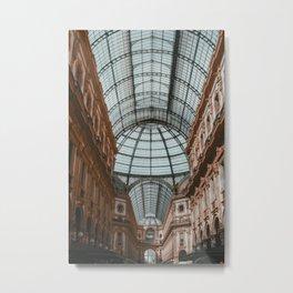 Galleria Vittorio Emanuele II, II Metal Print