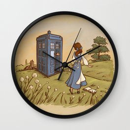 Adventure in the Great Wide Somewhere Wall Clock