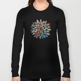 Colorful watercolor abstraction Long Sleeve T-shirt
