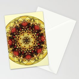 Sacred Geometry Mandalas 4 Stationery Cards