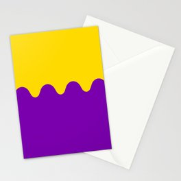 Wavy Intersexual Colors Stationery Cards