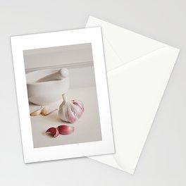 Garlic. Stationery Cards