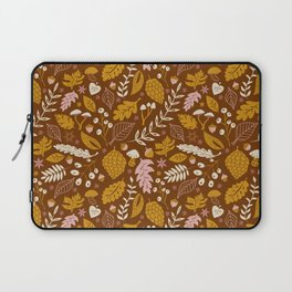 Fall Foliage in Gold + Brown Laptop Sleeve