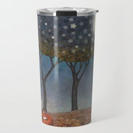 sleepy foxes Travel Mug