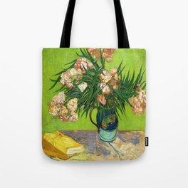 Vincent van Gogh's Oleanders and Books  Tote Bag