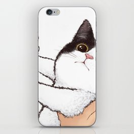 Don't kiss! iPhone Skin