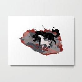 Cost of War Metal Print
