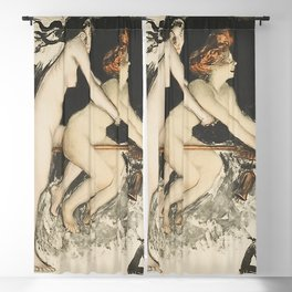 WITCHES - JEAN VEBER  Blackout Curtain