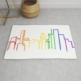 Houston Pride Rug