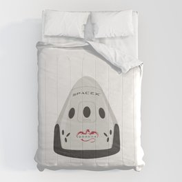 SpaceX Red Dragon Comforters