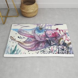 Sea Monster Rug