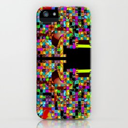 """Madrone Candea - Abstract 0003 """"Marble Factory Before Mosaic"""" iPhone Case"""