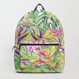 Tropical Garden 1A #society6 Backpack
