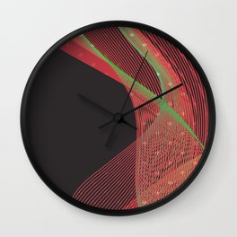 Smokey Charme Wall Clock