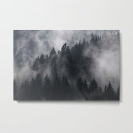 Mistic Forest Metal Print