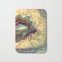 Colorful Earth Tones Quartz Crystal Bath Mat