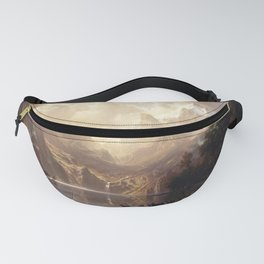 Albert Bierstadt - Among the Sierra Nevada, California Fanny Pack