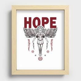 Hope Recessed Framed Print