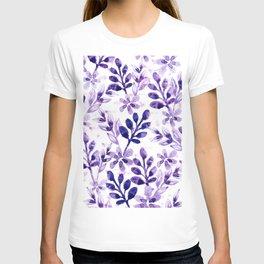 Watercolor Floral VIV T-shirt