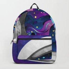 Astronauts Helmet Purple Backpack