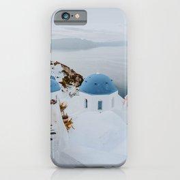 santorini v / greece iPhone Case
