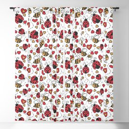 Bugs and Bees Blackout Curtain