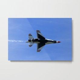 USAF Thunderbird Metal Print