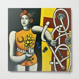 Julie by Fernand Léger Metal Print