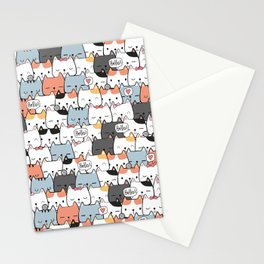 Cute Miao Stationery Cards