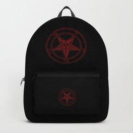 Das Siegel des Baphomet - The Sigil of Baphomet (red) Backpack
