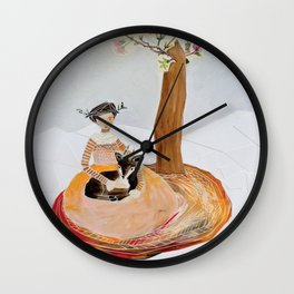 The Yearling Wall Clock