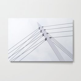 Taut Lines 1 Metal Print