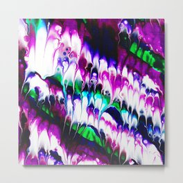 Colorful Ebb And Flow Metal Print