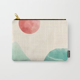 Rolling Verdant Hills 3 Carry-All Pouch