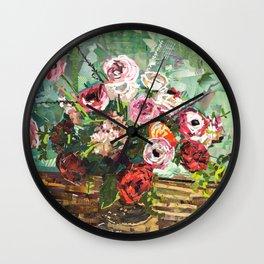 Tin Can Studio Floral 2 Wall Clock