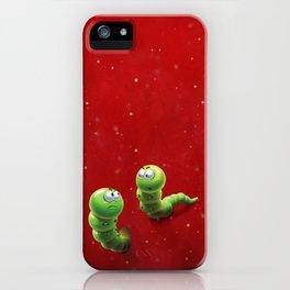 caterpillars iPhone Case