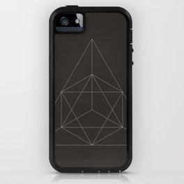 Geometric Dark iPhone Case