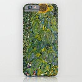 Gustav Klimt - The Sunflower iPhone Case