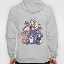 Creatures Spirits and friends Hoody