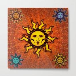 Sublime Sun #1 Tapestry Metal Print
